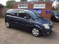 USED 2008 08 VAUXHALL MERIVA 1.6 DESIGN 16V 5d 100 BHP PREVIOUSLY SUPPLIED BY US