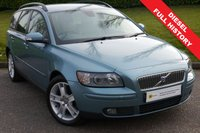 USED 2007 07 VOLVO V50 2.0 D SE 5d 135 BHP GREAT VALUE DIESEL ESTATE CAR**** £0 DEPOSIT FINANCE AVAILBLE