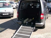USED 2011 61 VOLKSWAGEN CADDY MAXI 1.6 C20 MAXI LIFE TDI 5 SEATS WHEELCHAIR ACCESSIBLE WAV
