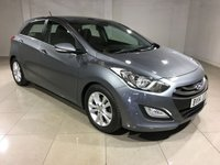 USED 2014 14 HYUNDAI I30 1.6 STYLE BLUE DRIVE CRDI 5d 126 BHP