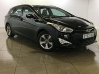 USED 2013 63 HYUNDAI I40 1.7 CRDI ACTIVE BLUE DRIVE 5d 134 BHP 30 ROAD TAX / Great Example