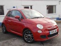 2015 FIAT 500 1.2 S 3d 69 BHP £7795.00