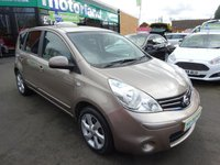 USED 2009 09 NISSAN NOTE 1.6 TEKNA 5d 110 BHP 1 OWNER... FULL SERVICE HISTORY... JUST ARRIVED