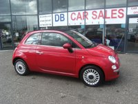 USED 2010 10 FIAT 500 1.2 C LOUNGE 3d 69 BHP £0 DEPOSIT, LOW RATE FINANCE ANYONE, DRIVE AWAY TODAY!!