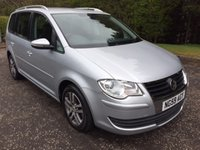 USED 2010 59 VOLKSWAGEN TOURAN 1.9 SE TDI 5dr 7SEATER 103 BHP 6 MONTHS PART AND LABOUR WARRANTY