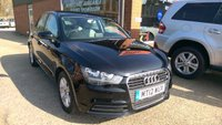 USED 2012 12 AUDI A1 1.6 SPORTBACK TDI SE 5d 105 BHP DIESEL IN BLACK APPROVED CARS ARE PLEASED TO OFFER THIS  AUDI A1 1.6 SPORTBACK TDI SE 5d 105 BHP DIESEL IN BLACK WITH A FULL SERVICE HISTORY SERVICED AT 20K,41K,49K,60K,72K AND 92K,A GREAT CAR AT SENSIBLE MONEY.