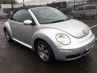 USED 2007 56 VOLKSWAGEN BEETLE 1.6 LUNA 8V 2d 101 BHP GREAT CONDITION THROUGHOUT