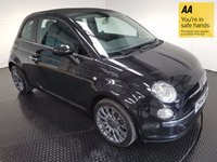 USED 2014 14 FIAT 500 1.2 C LOUNGE DUALOGIC 3d AUTO 69 BHP GOOD SERVICE - ONE OWNER - BLUETOOTH - ELECTRIC ROOF