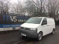 2013 VOLKSWAGEN TRANSPORTER 2.0 T28 TDI 102 BHP AIR CON LOW MILES FSH ONE OWNER £11250.00