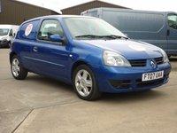 2007 RENAULT CLIO 1.5DCi CAMPUS SL15  65 BHP Blue + Air con + Alloys + £2395.00