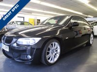 USED 2010 60 BMW 3 SERIES 2.0 320D M SPORT 2d 181 BHP FULL LEATHER, HARMON KARDON, FSH, ONLY 1 PREVIOUS OWNER.