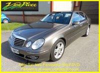 2007 MERCEDES-BENZ E CLASS 3.0 E280 CDI AVANTGARDE 4d AUTO 187 BHP £6000.00