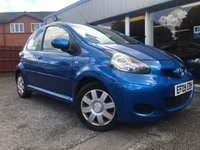 USED 2009 09 TOYOTA AYGO 1.0 BLUE VVT-I 5d AUTO 67 BHP LOW MILEAGE, AUTO, AIR CON £20 A YEAR TAX!
