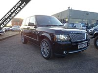 USED 2010 60 LAND ROVER RANGE ROVER 4.4 TDV8 AUTOBIOGRAPHY BLACK 5d AUTO 313 BHP 1 PREVIOUS OWNER THIS LIMITED EDITION  AUTOBIOGRAPHY BLACK COST NEW £83925 IT HAS A VERY HIGH SPECIFICATION WITH THE VERY BEST COLOUR COMBINATION FIRST TO SEE WILL BUY