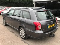 USED 2008 58 TOYOTA AVENSIS 2.0 TR TOURER D-4D 5d 125 BHP