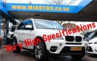 USED 2013 62 BMW X5 3.0 XDRIVE30D SE AUTO 241 BHP OYSTER NEVADA LEATHER INTERIOR