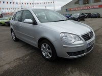 USED 2009 09 VOLKSWAGEN POLO 1.2 MATCH 5d 59 BHP GOT A POOR CREDIT HISTORY * DON'T WORRY * WE CAN HELP * APPLY NOW *