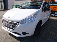 USED 2014 PEUGEOT 208 1.0 ACCESS 3d 68 BHP Super Low Mileage, Finance Available, No Deposit Nessary