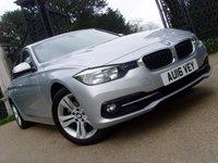 2016 BMW 3 SERIES 2.0 320I SPORT 4d AUTO 181 BHP £20999.00