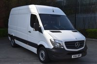 2014 MERCEDES-BENZ SPRINTER 2.1 313 CDI 5d 129 BHP MWB HIGH ROOF DIESEL MANUAL VAN  £11790.00
