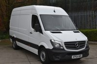 2014 MERCEDES-BENZ SPRINTER 2.1 313 CDI  5d 129 BHP MWB HIGH ROOF DIESEL MANUAL VAN  £12490.00