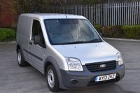 2013 FORD TRANSIT CONNECT 1.8 T220  5d 74 BHP SWB DIESEL MANUAL PANEL VAN  £3290.00