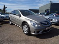 USED 2008 08 MERCEDES-BENZ R CLASS 3.0 R320L CDI SE 5d AUTO 222 BHP 1 PREVIOUS OWNER 5 SERVICE STAMPS 2 KEYS SAT NAV DISC