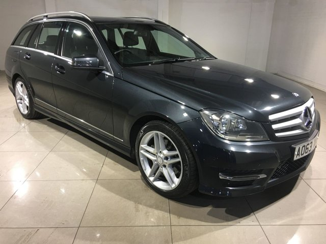 View our 2013 63 MERCEDES-BENZ C CLASS 2.1 C220 CDI BLUEEFFICIENCY AMG SPORT 5d 168 BHP