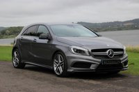 USED 2013 63 MERCEDES-BENZ A CLASS 2.0 A45 AMG 4MATIC 5d AUTO 360 BHP MERCEDES-BENZ A CLASS 2.0 A45 AMG 4MATIC 5d AUTO 360 BHP       ASK ABOUT OUR FINANCE DEPOSIT CONTRIBUTION ON THIS CAR
