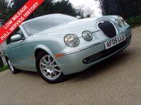 2005 JAGUAR S-TYPE 2.5 V6 4d AUTO 201 BHP £2999.00