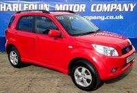 2008 DAIHATSU TERIOS 1.5 SE 5d AUTO 104 BHP £5999.00