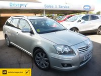 USED 2008 08 TOYOTA AVENSIS 1.8 T3-X VVT-I 5d 127 BHP NEED FINANCE? WE CAN HELP. WE STRIVE FOR 94% ACCEPTANCE