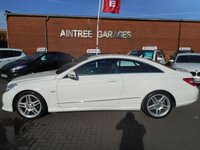 USED 2011 11 MERCEDES-BENZ E CLASS 3.0 E350 CDI BLUEEFFICIENCY SPORT 2d AUTO 231 BHP FULL LEATHER SAT NAV
