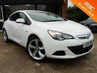2014 VAUXHALL ASTRA 1.4 GTC SPORT S/S 3d 118 BHP £7500.00