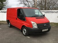 USED 2013 63 FORD TRANSIT 260 2.2 100 BHP SWB - CHOICE OF 70 VANS