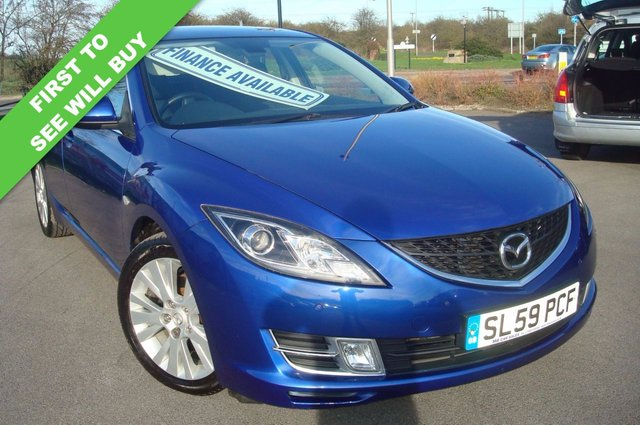 2009 59 MAZDA 6 2.2 D TS2 5d 163 BHP ELECTRIC BLUE METALIC