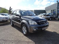 USED 2006 06 KIA SORENTO 2.5 XS CRDI 5d 139 BHP 1 PREV OWNER 7 MAIN DEALER STAMPS 2 KEYS LOTS OF RECIP[TS TO BACK UP SERVICE HISTORY SERVICED AT 10674M 19769M 27958M 34370M 45967M 52117M 58475M LAST SERVICE DONE AT KIA 20/01/2017