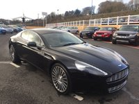 USED 2012 12 ASTON MARTIN RAPIDE 5.9 V12 AUTO 470 BHP Only 16,000 miles with FSH 4 Aston Services with very high specification
