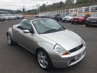 USED 2004 54 FORD STREET KA ROADSTER 1.6 LUXURY Leather, A/C, heated seats, only 53,000 miles with service history