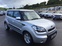 USED 2009 58 KIA SOUL 1.6 2 CRDI 5d AUTO 127 BHP Diesel Automatic with A/C & Media Connectivity. Just two owners