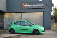 USED 2009 59 RENAULT CLIO 2.0 RENAULTSPORT CUP 3d 197 BHP ALIEN GREEN, RECARO SEATS, CUP CHASSIS, SPEEDLINE WHEELS, FULL SERVICE HISTORY, SUPERB CONDITION