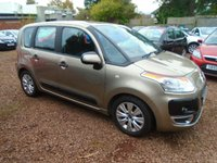 USED 2010 59 CITROEN C3 PICASSO 1.6 PICASSO VTR PLUS HDI 5d 90 BHP TIMING BELT, MAJOR SERVICE AND MOT JUST BEEN CARRIED OUT. READY TO DRIVE AWAY !!