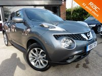 USED 2015 15 NISSAN JUKE 1.5 TEKNA DCI 5d 110 BHP ONE IOWNER FULL LEATHER INTERIOR,  PANORAMIC ROOF,  PRIVACY GLASS, AIR CONDITIONING, ALLOYS, BLUETOOTH, CRUISE CONTROL, FULL SERVICE HISTORY, SPARE KEY