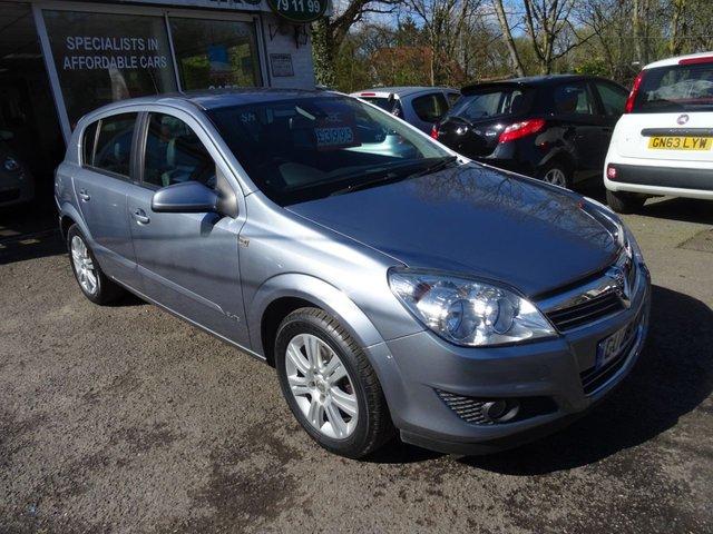 2008 08 VAUXHALL ASTRA 1.8 ELITE 16V E4 5d AUTO 140 BHP