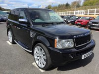 USED 2006 06 LAND ROVER RANGE ROVER SPORT 2.7 TDV6 HSE Diesel Auto Cream leather, Sat Nav, 22 inch alloys, heated seats, colour coded +++