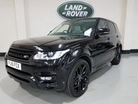 USED 2015 15 LAND ROVER RANGE ROVER SPORT 3.0 SDV6 HSE 5d AUTO 288 BHP STEALTH PACK 1 Owner/Pan Roof/Nav/Heated Seats/Bluetooth/Rear Camera