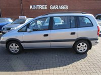 USED 2002 02 OPEL ZAFIRA 2.0 1d  7seater diesel family car