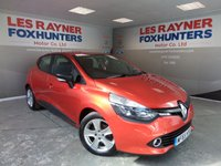 USED 2015 65 RENAULT CLIO 1.5 EXPRESSION PLUS DCI 5d 89 BHP Full Renault Service History , Outstanding MPG!