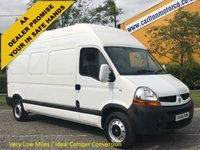 USED 2010 10 RENAULT MASTER LH35DCi 120 High Roof [ Low Mileage 28K ] van Ex Lease Free UK Delivery