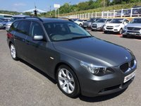 USED 2006 56 BMW 5 SERIES TOURING 535D SE TOURING AUTO 269 BHP Over £10,000 in options costing almost £50,000 new. Top model Twin Turbo Diesel Estate